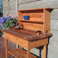 Potting Bench - with Shelf no plumbing