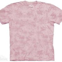 Carnation Solid Color Tie Dye T-Shirt