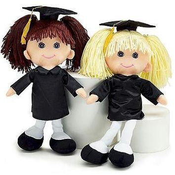 Makinzy Plush Graduation Doll 15""