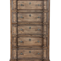 Four Hands Breakfront 5-Drawer Dresser/Tall Chest - Brown
