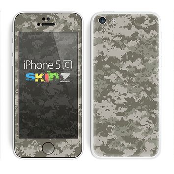 The Digital Camouflage V2 Skin for the Apple iPhone 5c