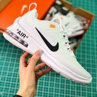 Off White X Nike Air Max 87 White Sport Running Shoes - Best Online Sale