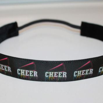 Cheer non slip headband