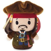 itty bittys Pirates of the Caribbean Captain Jack Sparrow Stuffed Animal Limited Edition