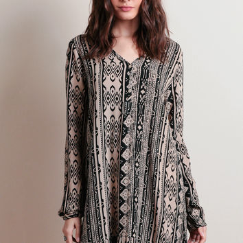 Hanging In There Printed Dress