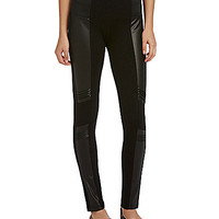 Copper Key Knit Ponte Leggings - Black