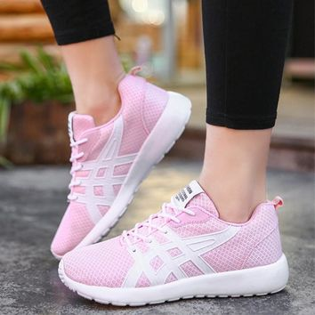 New Women's Running Shoes Women Sneakers Athletic Woman Sport Shoes Ladies Walking Shoes Soft Light Outdoor Zapatillas Mujer