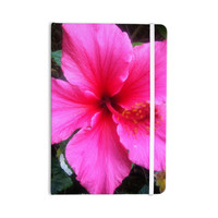 "NL Designs ""Tropical Pink Hibiscus"" Pink Floral Everything Notebook"