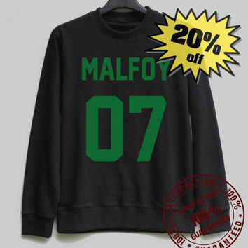 MALFOY 03 Sweatshirt Harry Potter Sweatshirt Sweater Shirt – Size XS S M L XL