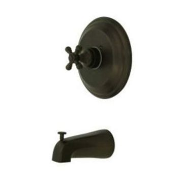 elements of design eb2635bxto new york oil rubbed bronze pressure balanced tub faucet