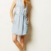 Ballard Chambray Shirtdress by Holding Horses Light Denim