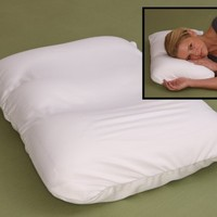 Microbead Pillow - Most Comfortable Air Micro Bead Cloud Pillows - Squishy, Yet Firm, Neck Support
