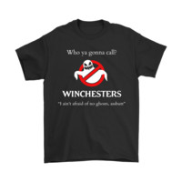 QIYIF Who Ya Gonna Call Winchesters Supernatural Ghostbuster Shirts