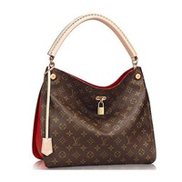 Authentic Louis Vuitton Monogram Gaia Shoulder Handbag Article:M41620 Cherry