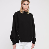 ALLSAINTS US: Womens Mora Sweatshirt (black)