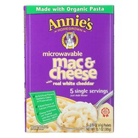 Annie's Homegrown Organic Microwavable Macaroni and Cheese Single Servings - 5 Servings