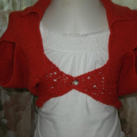 Girls cotton shrug