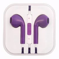 Galaxy Purple Earbuds