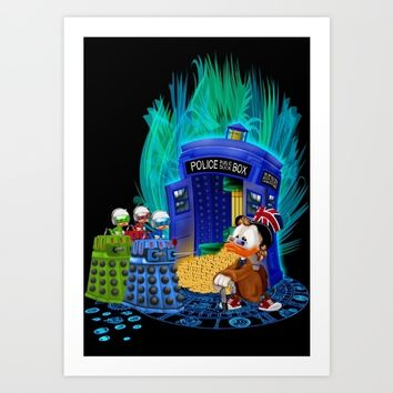 The Doctor who Tales iPhone 4 4s 5 5c 6, pillow case, mugs and tshirt Art Print by Greenlight8