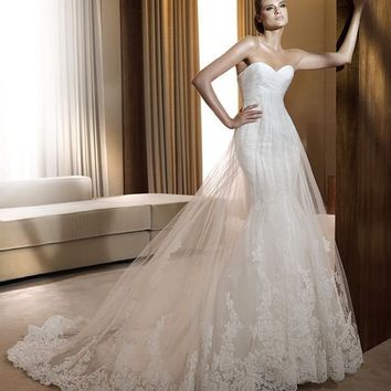 Cheap Pronovias Wedding Dresses - Style Finisterre - Only USD $355.20