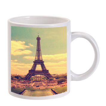 Gift Mugs | Eiffel Tower Vintique Paris Ceramic Coffee Mugs