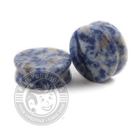 Denim Lapis Stone Plugs