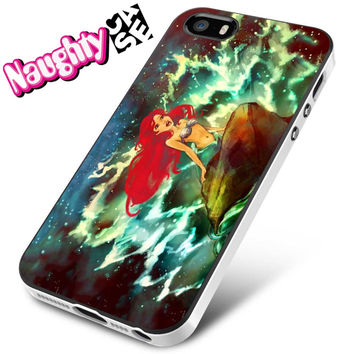 Disney Princess Little Mermaid Ariel Sketch iPhone 4s iphone 5 iphone 5s iphone 6 case, Samsung s3 samsung s4 samsung s5 note 3 note 4 case, iPod 4 5 Case
