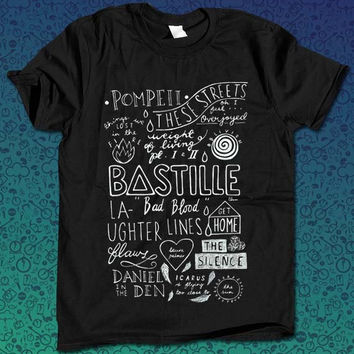 Bastille  for T Shirt Mens and T Shirt Girls
