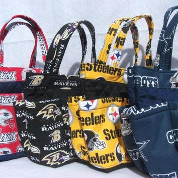 Dallas Cowboys Bingo Bag // Craft Organizer // Makeup Organizer // Caddy // Teacher Tote // Nurse Tote