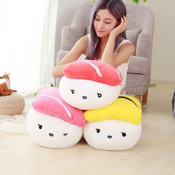 super cute plush toys simulation Japanese sushi pillow as a gift to the children and friends/40