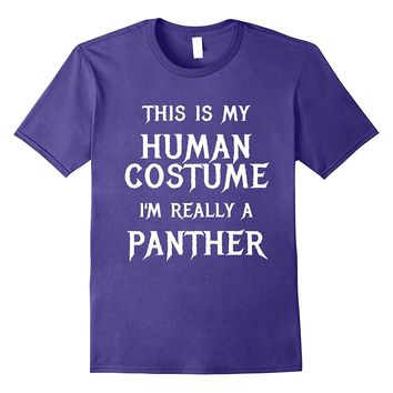 Funny Panther Halloween Costume Shirt for Women Men Kids