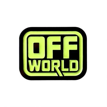 Off World - Enamel Pin