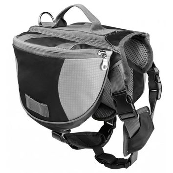 Dog Hiking / Trekking Harness Pack with Quick Release