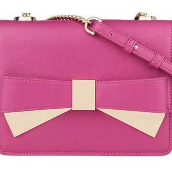 Sweets Bowknot Chain Shoulder Bags [6581338567]