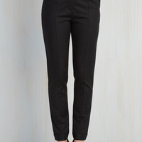 Situationally Savvy Pants in Black | Mod Retro Vintage Jackets | ModCloth.com