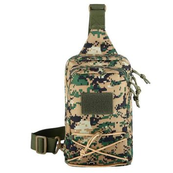 Sports gym bag 2018 Hot Camouflage Sports Single Shoulder Bag Background Tactics Small Chest Bag Front Personality phone Bag j2 KO_5_1