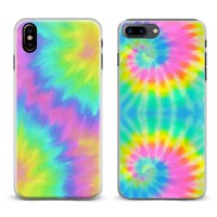 Tie dye Hippie Art Rainbow Coque Phone Case Cover Shell For Apple iPhone X 8Plus 8 7Plus 7 6sPlus 6s 6Plus 6 5 5S SE