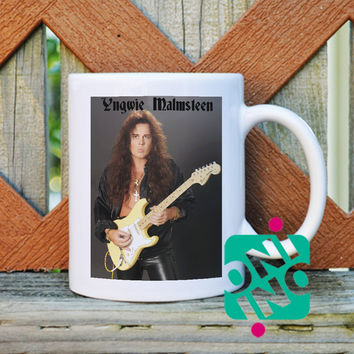 Yngwie Malmsteen Coffee Mug, Ceramic Mug, Unique Coffee Mug Gift Coffee