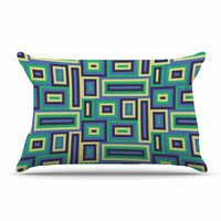 "Trebam ""Jesen"" Green Yellow Pillow Sham"