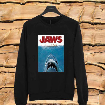 jaws sweater Sweatshirt Crewneck Men or Women Unisex Size