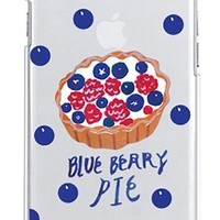 iPhone 6 Case, A-Step Clear Plastic Cover Case for iPhone 6 4.7 - Thin Protective Case for iPhone 6 [Blueberry Pie]