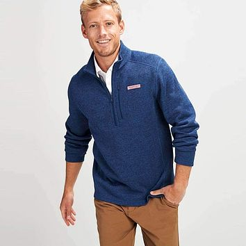 Mountain Sweater Fleece 1/2 Zip Pullover by Vineyard Vines