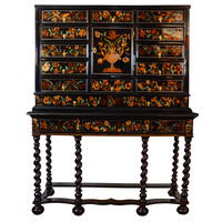 Louis XIV Marquetry Cabinet on Stand 17th Century