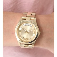 Marc by Marc Jacobs Baby Dave Gold Tone Womens Watch MBM3189