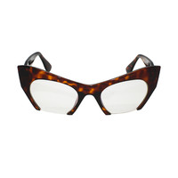 Cat Eye Clear Lens Hooligan Glasses