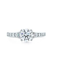 Tiffany & Co. | Engagement Rings | Round Brilliant With Square-cut Channel-set Band | United States