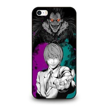 light and ryuk death note iphone se case cover  number 1