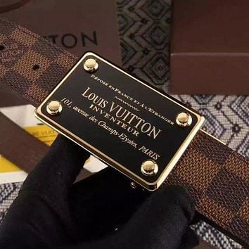 Boys & Men Louis Vuitton x Monogram Brown Belt