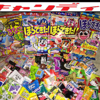 Horadekita Ringo Ame DIY + Japanese Candy 40 Piece Pack Random Assorted Treats Pack