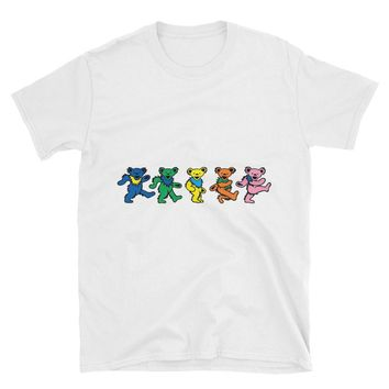 GRATEFUL DEAD SHIRT - Gifts For Deadheads - Dancing Bears - Psychedelic Tees, Guy's T-shirt, Guy Clothes, Girl Clothes - Great Gift Idea!